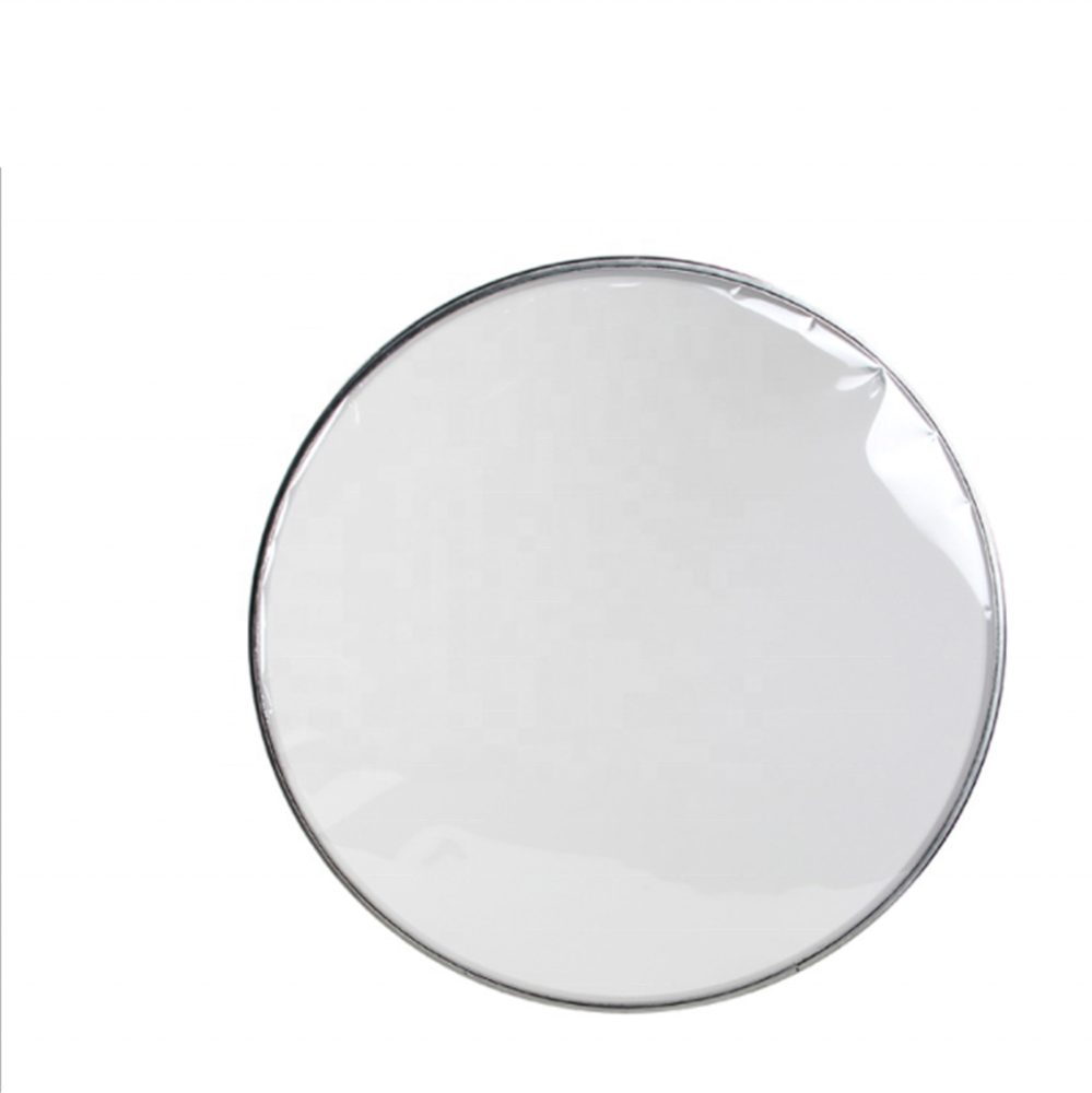 "High quality 14"" drum skin full transparency military drum skin resonance skin 0.075mm PET"