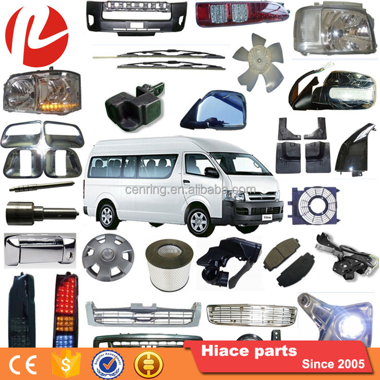 One-stop Auto Spare Parts Car ROLIE Auto Body Spare Parts 1993-2018 T0Y0TA HIACE Auto Spare Parts