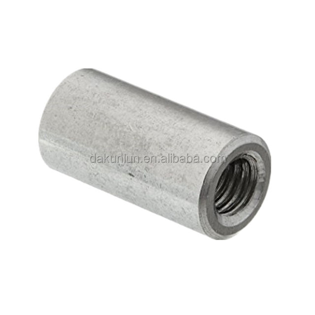 Round Coupling Connector Nuts,Threaded Rod
