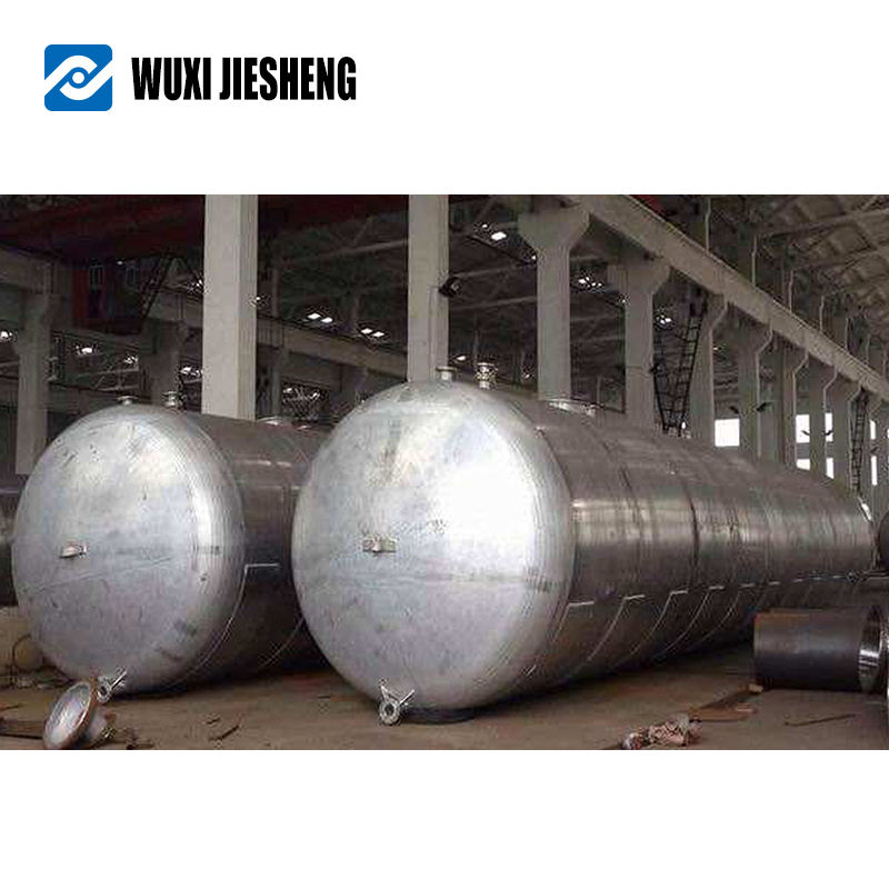 Customized supplier stainless steel sand filter frp tank with half pipes
