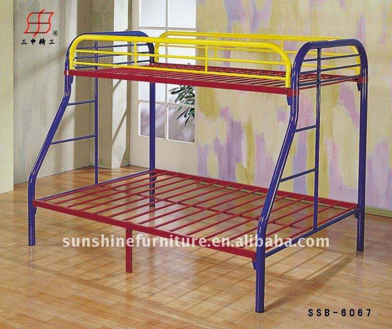 Cheap Factory Different Size Wrought Iron Bunk Bed Frame