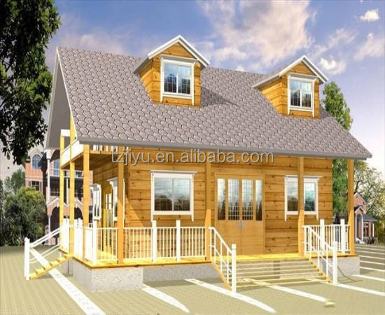 2019 New version Latest hot sale canadian prefabricated cheap wood house for living india wooden houses