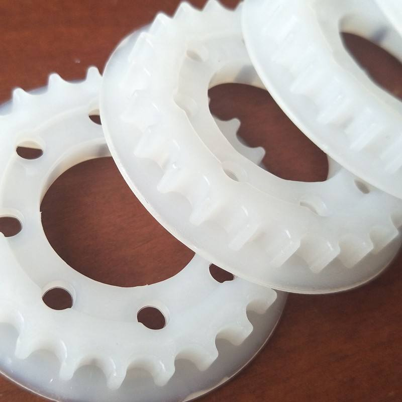 supply OEM service plastic pulley wheels molded plastic cnc machined plastic part