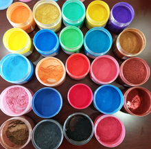 Soap Dye - Mica Powder Pigments for bath bomb - Soap Making Colorant - 24 Beautiful Colors (0.18 oz each) - Candle Making