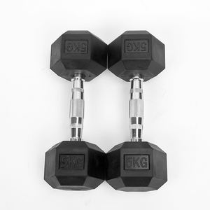 Hot Selling Weightlifting 10kg Hand Weights Dumbbell Set