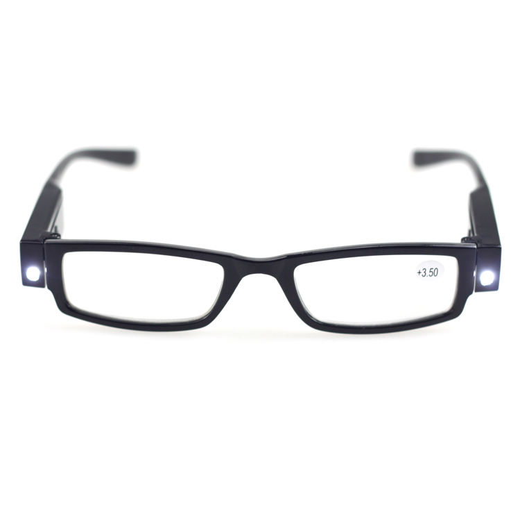 LQQ004 promotional comfortable led presbyopic rechargeable led presbyopic reading glasses 2020