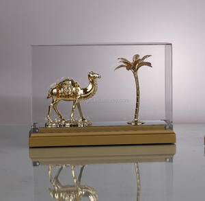 New Styles Beautiful Camel with Plam Tree