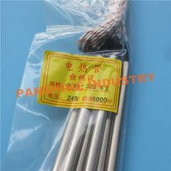 electric tube heating element for heating blanket