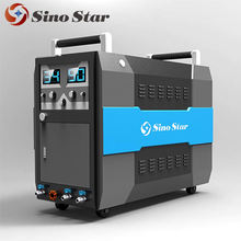 High pressure Industrial hydraulic oil steam wash machine cleaning machine with two guns GBT-B
