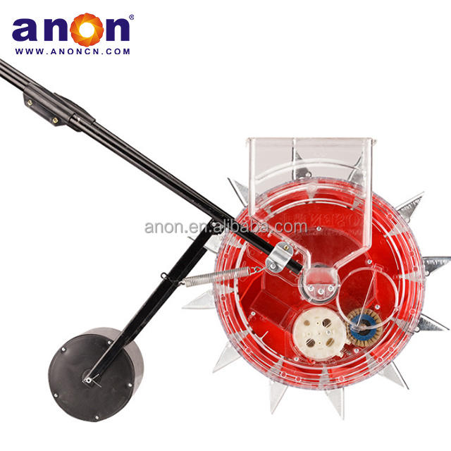 Anon good quality hand push seeder manual compact corn seeder for small seeds in India