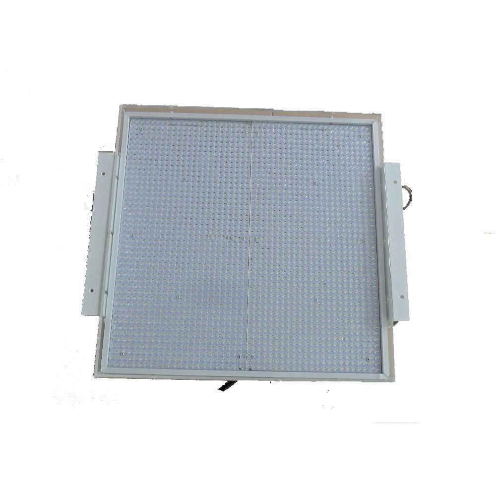 IP66 120LM/W 550*550mm 160 W <span class=keywords><strong>explosion</strong></span> preuve 150 w led retrofit canopée luminaires remplacer 400 W station de gaz d'éclairage