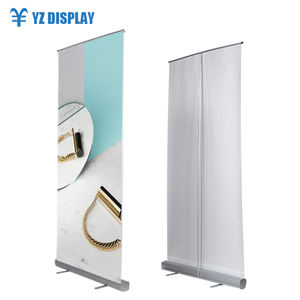 China leverancier goede kwaliteit economie roll up banner stand