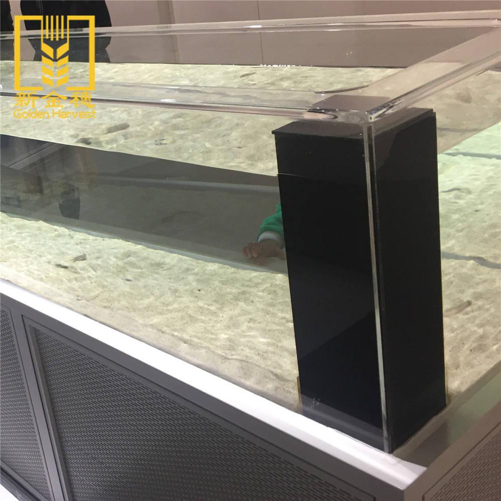 2018新しい飾る小さなアクリル水族館水槽用魚繁殖