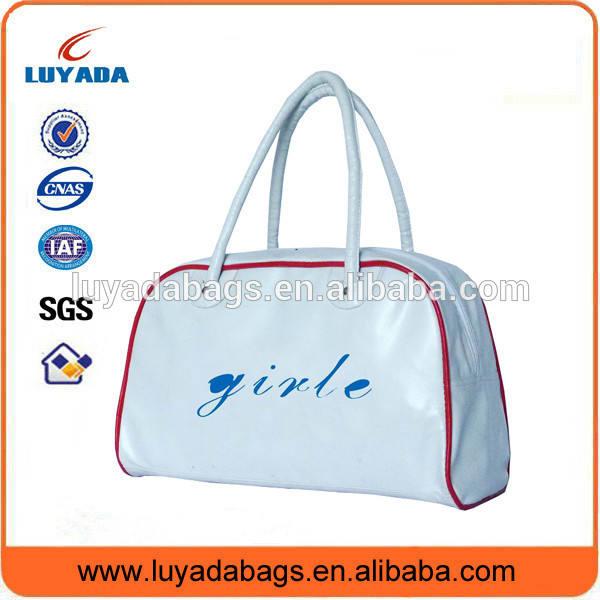 pvc deri bayan çanta ürün meslek atheletic spor çanta