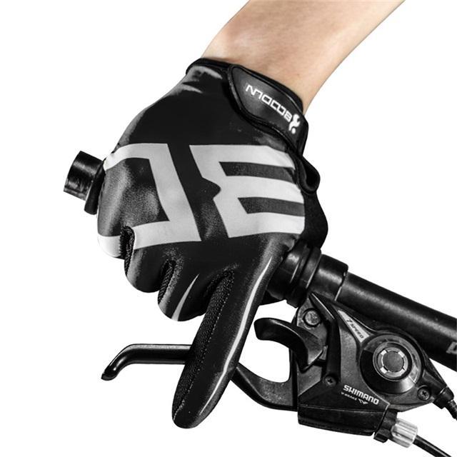Half-Finger Mittens Bike Fingerless Cycling Gloves Gravity Sensor LED Riding