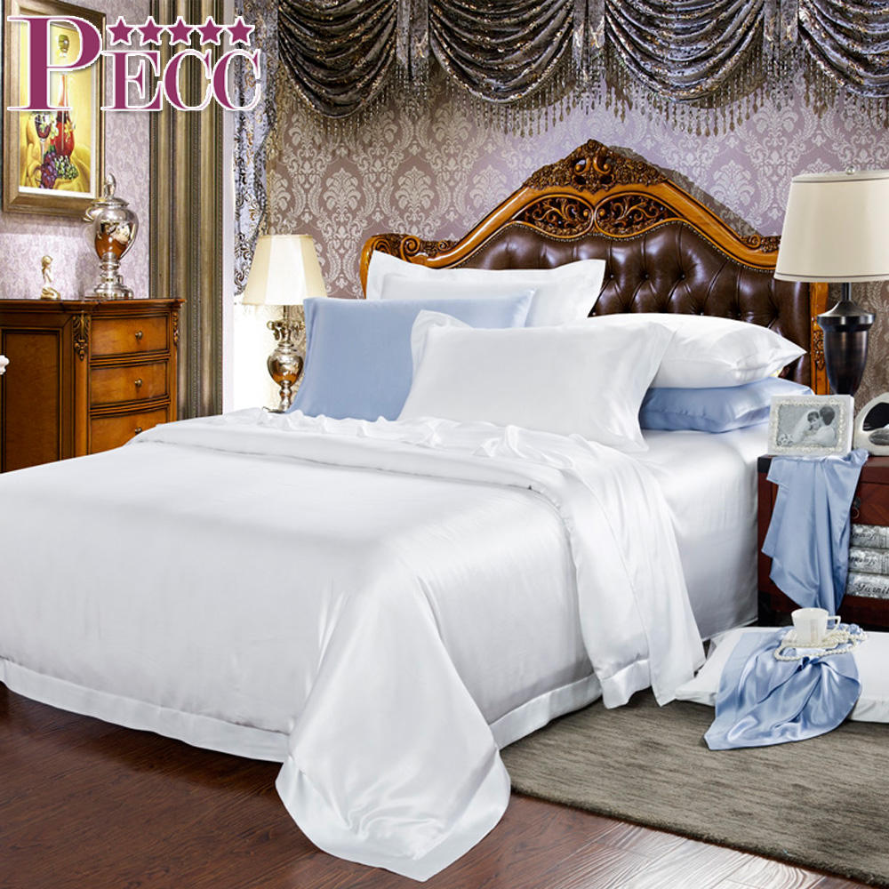 New coming raw chinese silk set cbd bedding