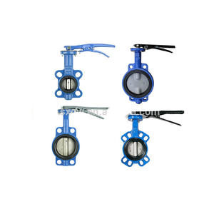 Wafer Cast Iron Manual Butterfly Control Valve