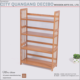 Antique Bamboo Wooden Furniture Book Rack Design Price