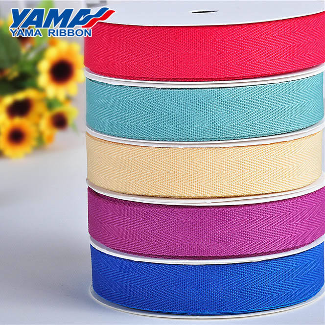 Woven [ Seat Belt ] Wholesale Popular Solid Color 100% Cotton Webbing Tape For Seat Belt
