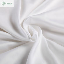 hotel use bedding set 100% cotton white satin finished plain twill fabric