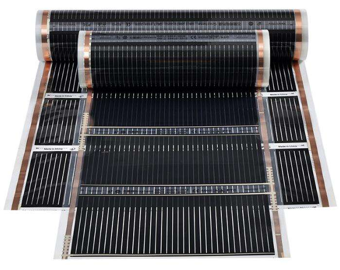 PTC Electric Floor Heating Products Far Infrared Carbon Fiber Heating Film