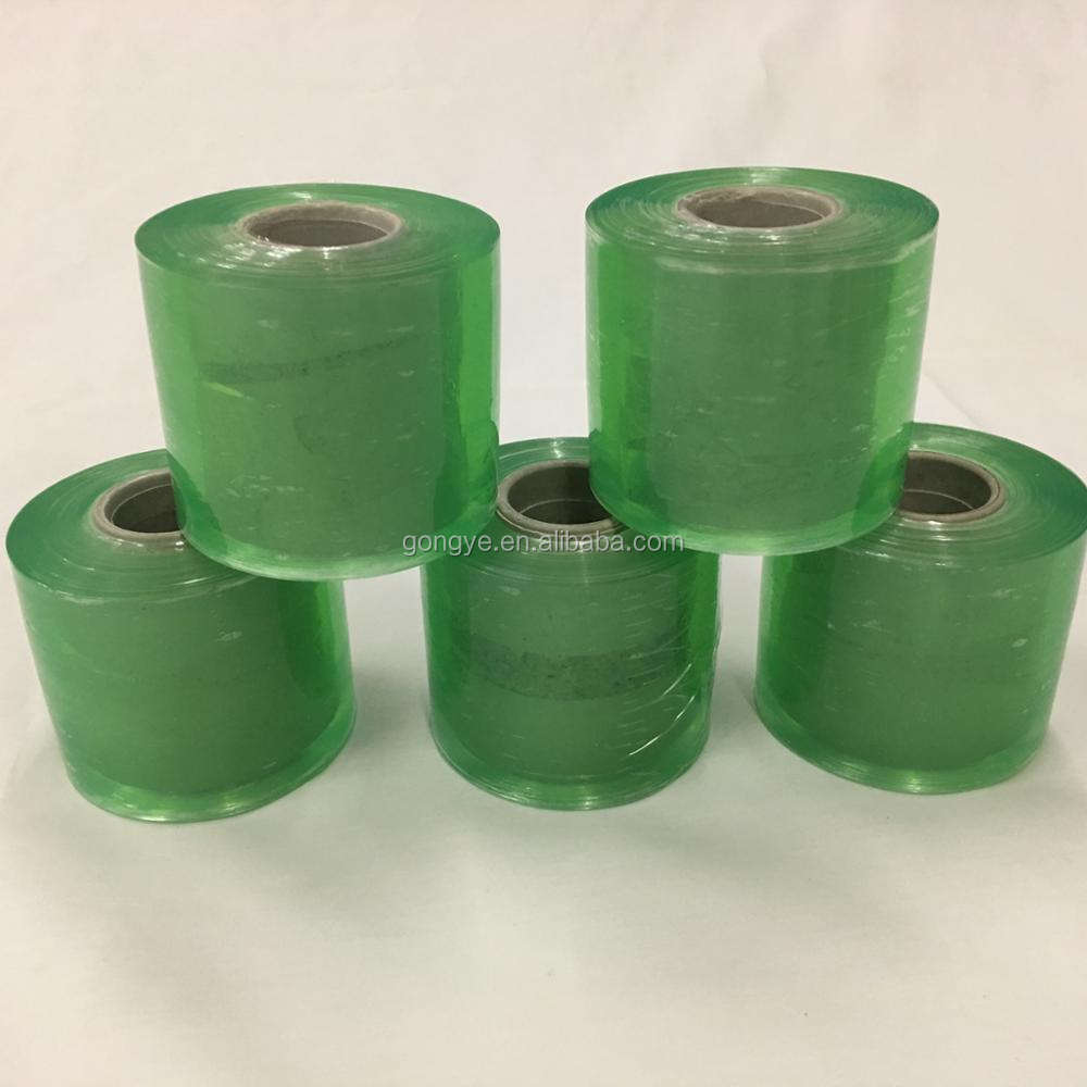 Customized Green Electrical Rolled wrap Environmental Self Adhesive pvc plastic film