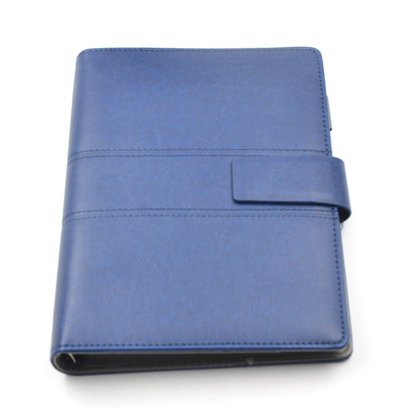 Loose-leaf Non Perforated Personal Portfolio Hidden Spiral Notebook