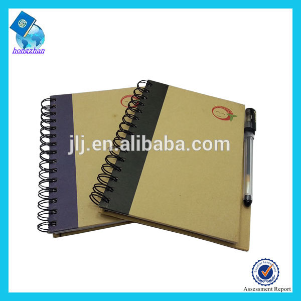 New Design Spiral Notebook with Pen