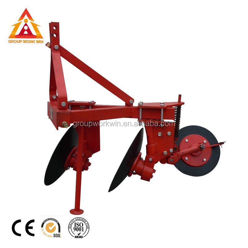 Farm Tractor Mounted Disc Plough