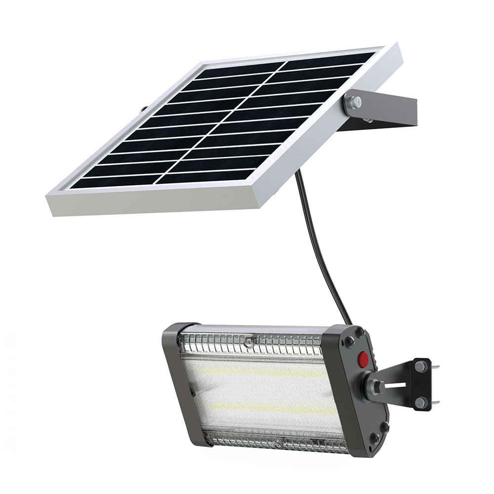 Impermeable luz recargable 25 led solar sensor de movimiento de la lámpara