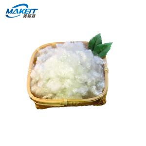 1.2d Solid Recycled Polyester Staple Stuffing Fiber Price Sofa Filling Material