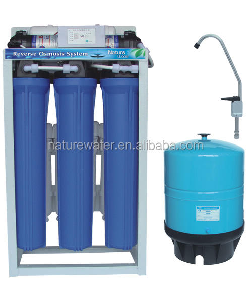 Ro Commercial Systems Big Commercial 100-400GPD RO Water Filter / RO Water Purifier / RO System With Autoflushing