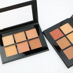 Highlights private label make up pressed concealer powder palette