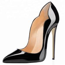 Ladies European Women Hot Sexy Pointed Toe Stiletto Pumps Shoes Pencil High Heels Dress Shoes Single Color