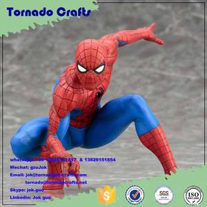 Artificial Movie Action Figure Model Spiderman Statue; ,Life Size Spiderman,Spiderman Action Figure Product