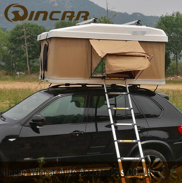 New Type Hardshell Roof Top Tent With Roof Rack