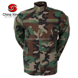 YL06 China Xinxing Outdoor Military ACU Woodland Camouflage Ripstop Armee Kampf Uniformen