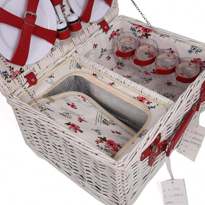 Competitive Price Wholesale Wicker Picnic Basket For Crafts