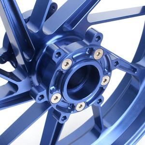 Custom cnc forged billet motorcycle wheels