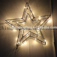 factory price led christmas lights holiday time 3 D lights outdoor christmas lights star