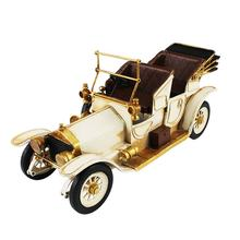 Handmade Metal Decorative Antique Style Metal Car Vintage Old Car Model Home Decoration Kids Gifts