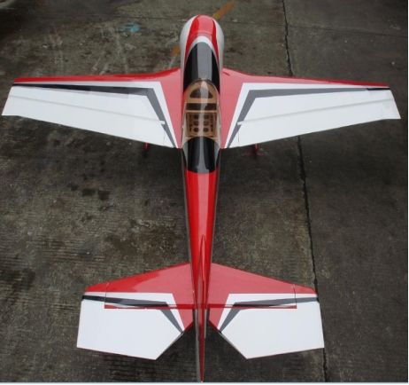 RC Model electrical airplane kit Juka 84in