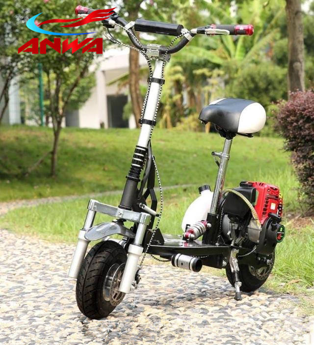 49cc 4 stroke mini gas scooter
