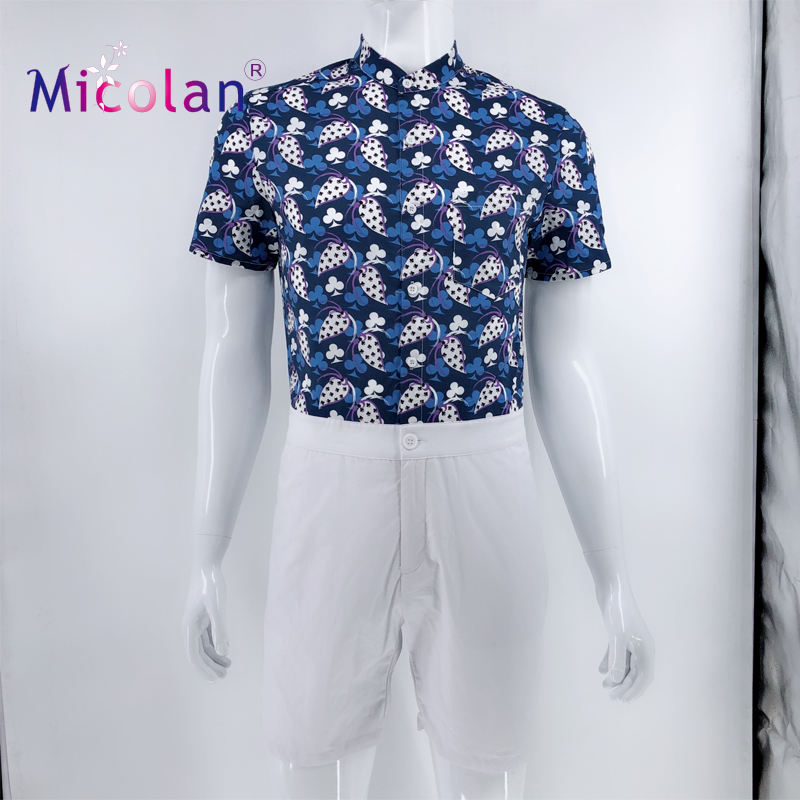 OEM Manufacturer Wholesale Jumpsuit Male Short Sleeve Romper Adult Men