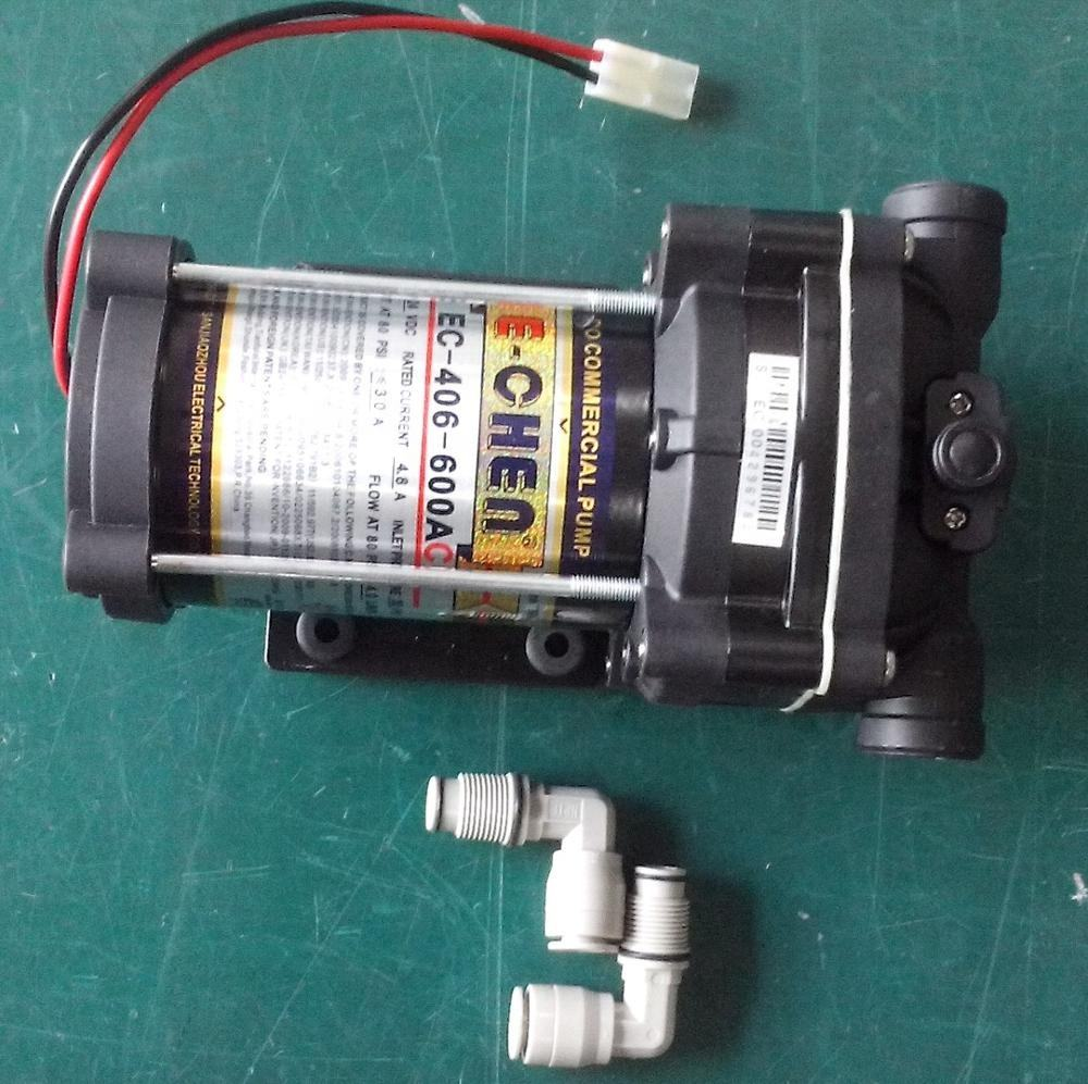 booster pump for reverse osmosis water filter