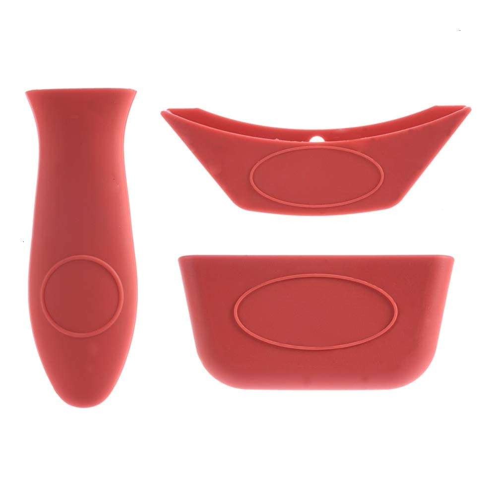 Silicone Hot Handle Holder - Sleeve Grip Silicone Pot Handle Covers Cookware handle