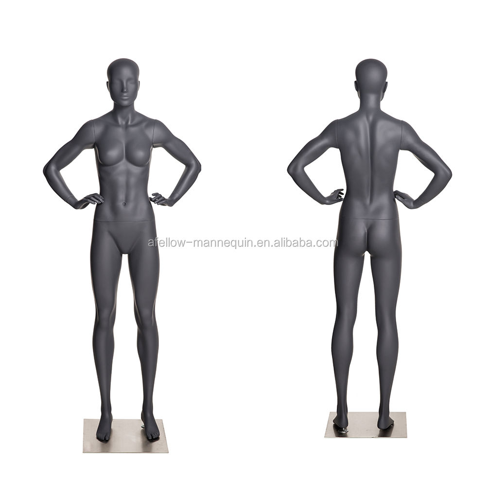 NI-9 Fiberglass sports mannequin collection female woman mannequin with head