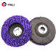 purple cleaning and stripping disc abrasive wheel for grinding stainless steel