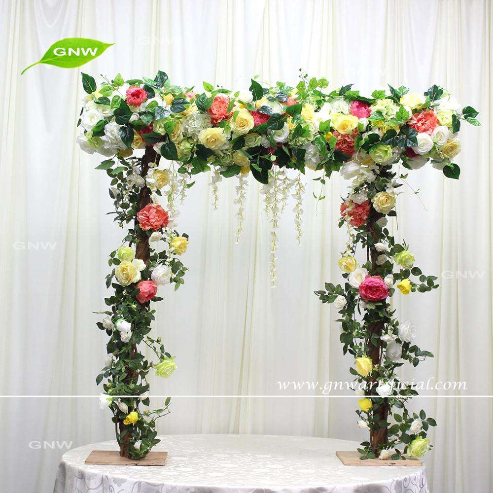 GNW FLWA170909-001 Bright color table flower centerpieces arch for wedding