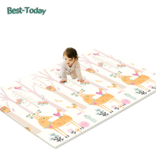 Best-Today Hot Kids Baby Educational Alphabet Game Play Mat 180x150cm Children Floor Crawl Learning Home Outdoor Rug